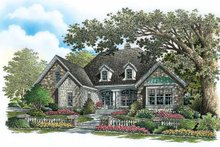 Dream House Plan - Craftsman Exterior - Front Elevation Plan #929-777