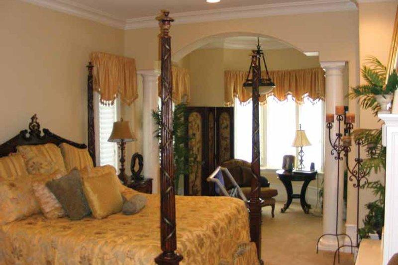 Mediterranean Interior - Master Bedroom Plan #937-17 - Houseplans.com