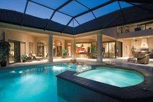 House Plan Design - Mediterranean Exterior - Rear Elevation Plan #930-328