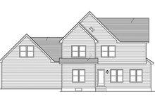 Craftsman Exterior - Rear Elevation Plan #1010-117