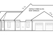 Dream House Plan - Country Exterior - Other Elevation Plan #1053-57