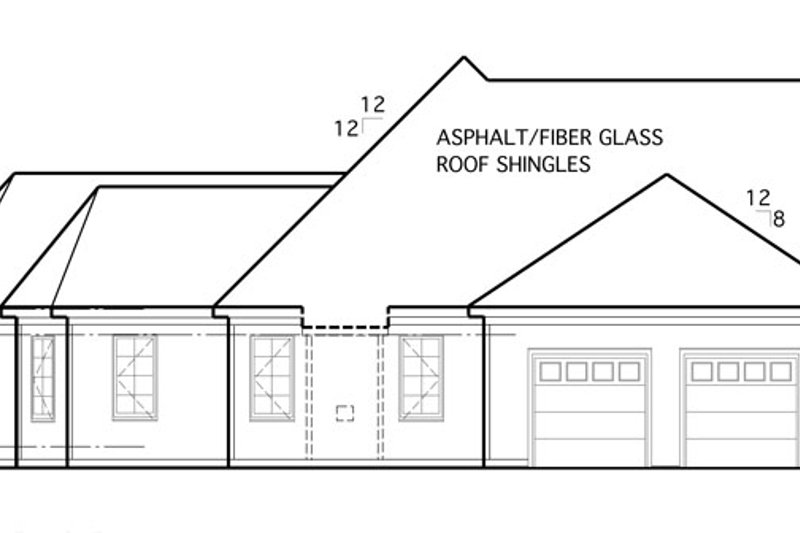 Country Exterior - Other Elevation Plan #1053-57 - Houseplans.com