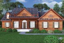 Home Plan - Craftsman Exterior - Front Elevation Plan #417-797