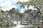 Craftsman Style House Plan - 4 Beds 3 Baths 2498 Sq/Ft Plan #929-973 Exterior - Front Elevation