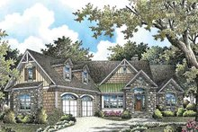 Architectural House Design - Craftsman Exterior - Front Elevation Plan #929-973