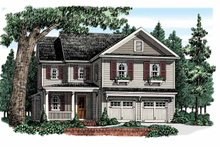 House Plan Design - Country Exterior - Front Elevation Plan #927-948