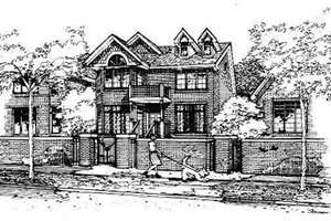 Traditional Exterior - Front Elevation Plan #50-226