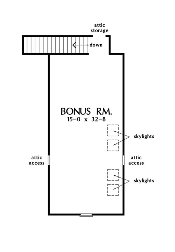 Traditional Floor Plan - Other Floor Plan Plan #929-983