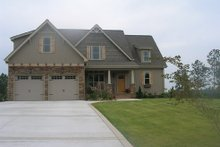Home Plan - Country Exterior - Front Elevation Plan #927-471