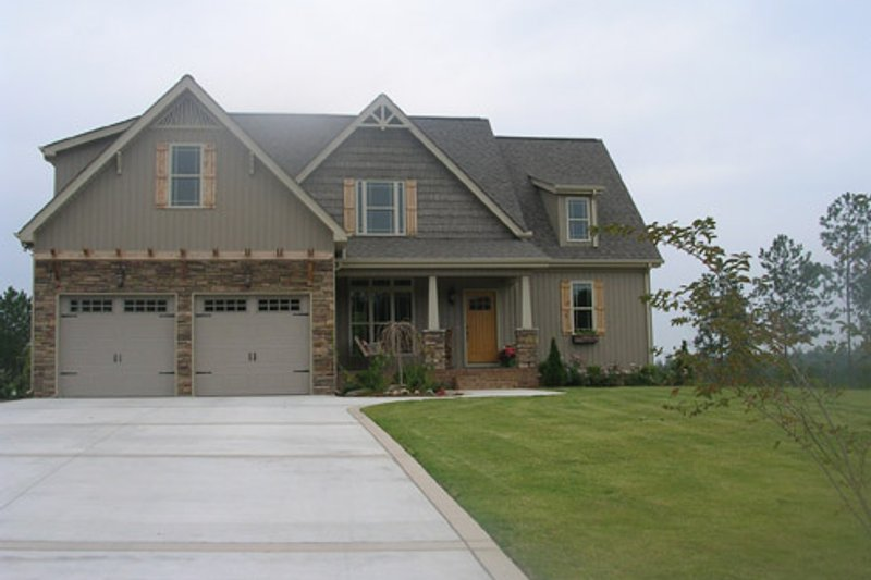 Country Exterior - Front Elevation Plan #927-471 - Houseplans.com