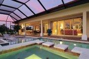 Mediterranean Style House Plan - 3 Beds 3 Baths 2885 Sq/Ft Plan #930-326 Exterior - Rear Elevation
