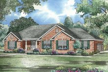 Architectural House Design - Ranch Exterior - Front Elevation Plan #17-2781