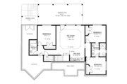 Craftsman Style House Plan - 4 Beds 3.5 Baths 3041 Sq/Ft Plan #437-76 Floor Plan - Other Floor