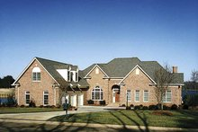 House Plan Design - Country Exterior - Front Elevation Plan #453-480