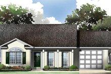 House Design - Ranch Exterior - Front Elevation Plan #21-167
