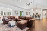 Prairie Style House Plan - 3 Beds 2.5 Baths 2115 Sq/Ft Plan #929-1001 Interior - Family Room