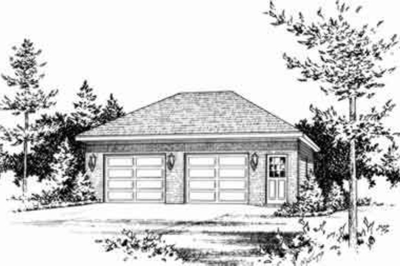 House Plan Design - Traditional Exterior - Front Elevation Plan #22-452