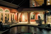 Mediterranean Style House Plan - 6 Beds 4.5 Baths 4391 Sq/Ft Plan #930-355 Exterior - Outdoor Living