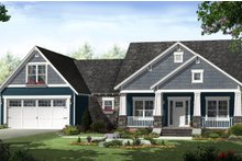 Home Plan - Country Exterior - Front Elevation Plan #21-459