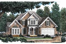 Dream House Plan - Traditional Exterior - Front Elevation Plan #927-115