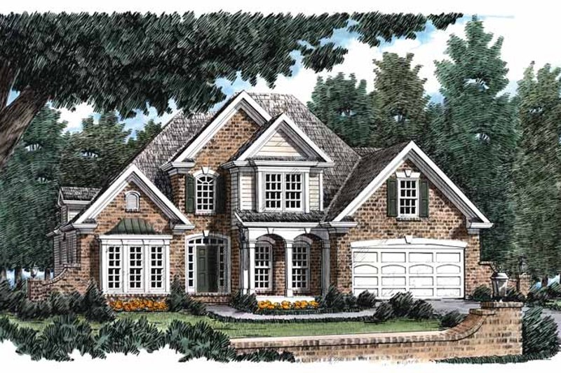House Plan Design - Traditional Exterior - Front Elevation Plan #927-115
