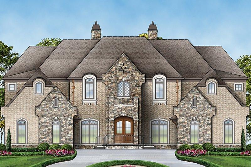 Architectural House Design - European Exterior - Front Elevation Plan #119-423