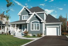 Country Exterior - Front Elevation Plan #23-482
