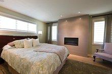 Home Plan - Contemporary Interior - Master Bedroom Plan #928-273