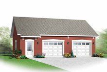 House Plan Design - Traditional Exterior - Front Elevation Plan #23-2514