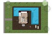 Modern Style House Plan - 3 Beds 2 Baths 1380 Sq/Ft Plan #473-2 Floor Plan - Main Floor
