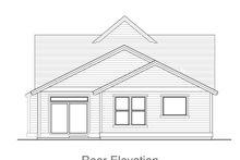 Home Plan - Craftsman Exterior - Rear Elevation Plan #53-602