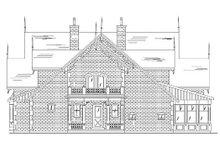 Victorian Exterior - Rear Elevation Plan #5-441