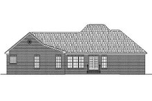 Dream House Plan - Ranch Exterior - Rear Elevation Plan #430-17