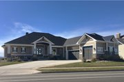 Craftsman Style House Plan - 2 Beds 2.5 Baths 2605 Sq/Ft Plan #1069-1 Exterior - Front Elevation