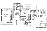 Country Style House Plan - 4 Beds 2.5 Baths 2389 Sq/Ft Plan #11-222 Floor Plan - Main Floor Plan