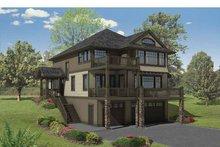 Craftsman Exterior - Front Elevation Plan #569-23