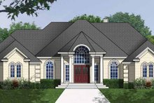 Dream House Plan - Traditional Exterior - Front Elevation Plan #40-474