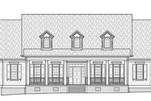 Architectural House Design - Southern Exterior - Front Elevation Plan #1054-19