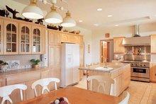 Architectural House Design - Contemporary Interior - Kitchen Plan #72-872