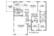 Cottage Style House Plan - 3 Beds 2.5 Baths 1836 Sq/Ft Plan #1064-35 Floor Plan - Main Floor