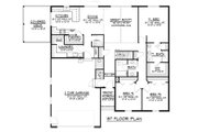 Cottage Style House Plan - 3 Beds 2.5 Baths 1836 Sq/Ft Plan #1064-35 Floor Plan - Main Floor
