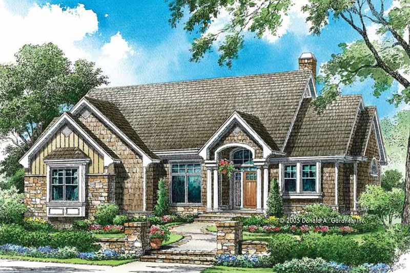 Craftsman Exterior - Front Elevation Plan #929-774 - Houseplans.com