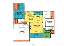 Country Floor Plan - Main Floor Plan Plan #20-193