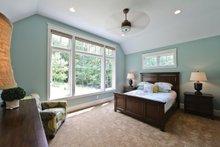 House Plan Design - European Interior - Master Bedroom Plan #928-267