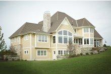 House Plan Design - European Exterior - Rear Elevation Plan #928-8