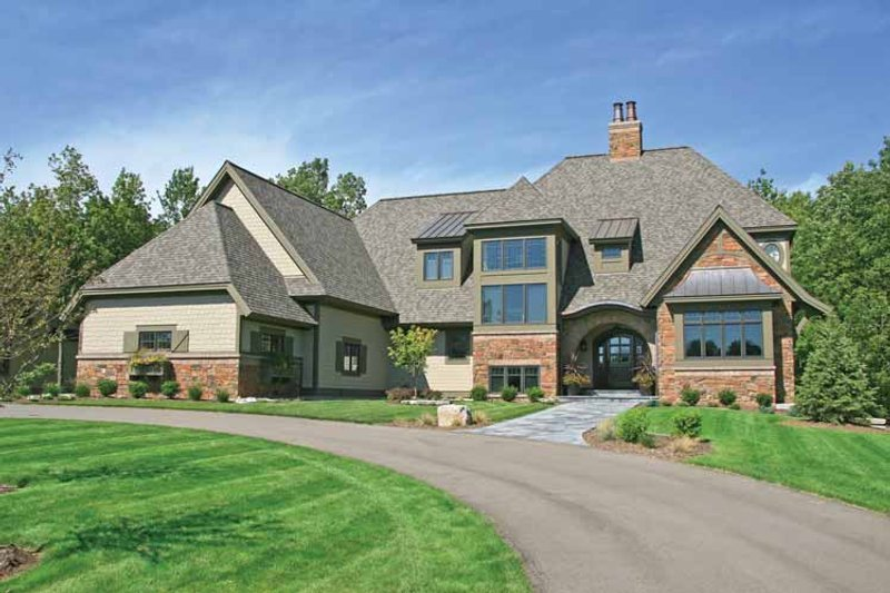 European Exterior - Front Elevation Plan #928-180 - Houseplans.com