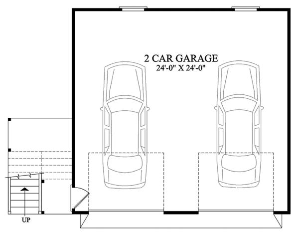 Traditional Floor Plan - Main Floor Plan Plan #137-368