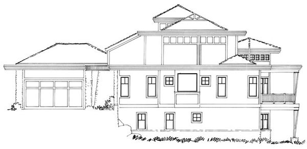 Craftsman Floor Plan - Other Floor Plan Plan #942-11