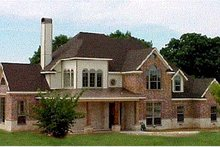 House Design - European Exterior - Front Elevation Plan #20-257