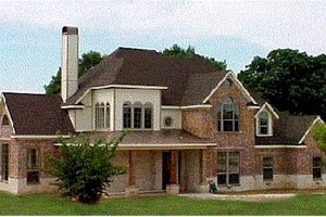 House Design - European Exterior - Front Elevation Plan #20-257